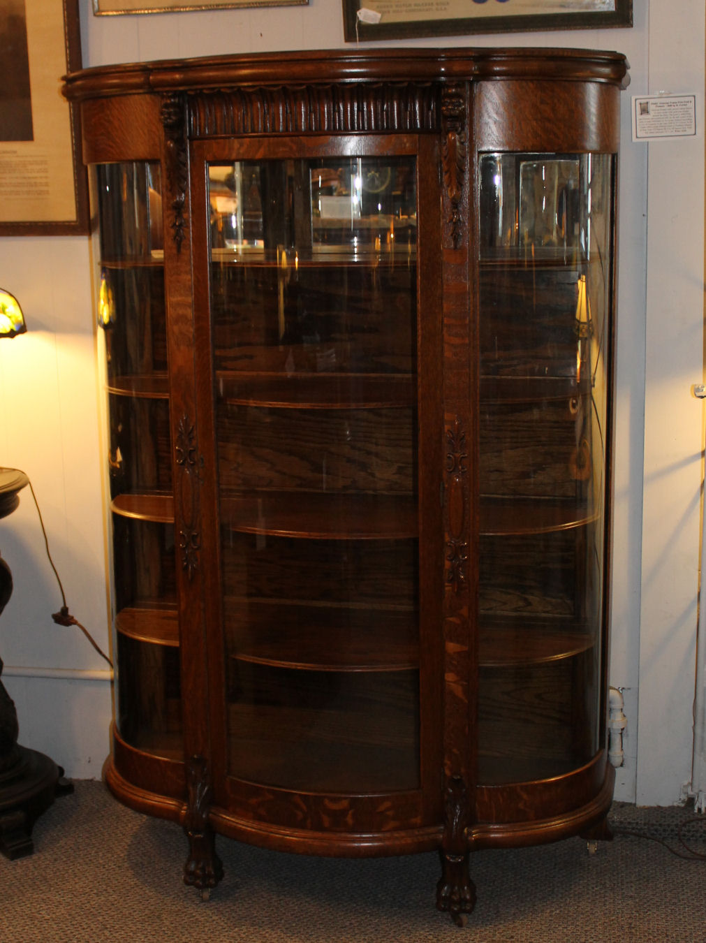 Bargain John S Antiques 187 Blog Archive Oak China Cabinet