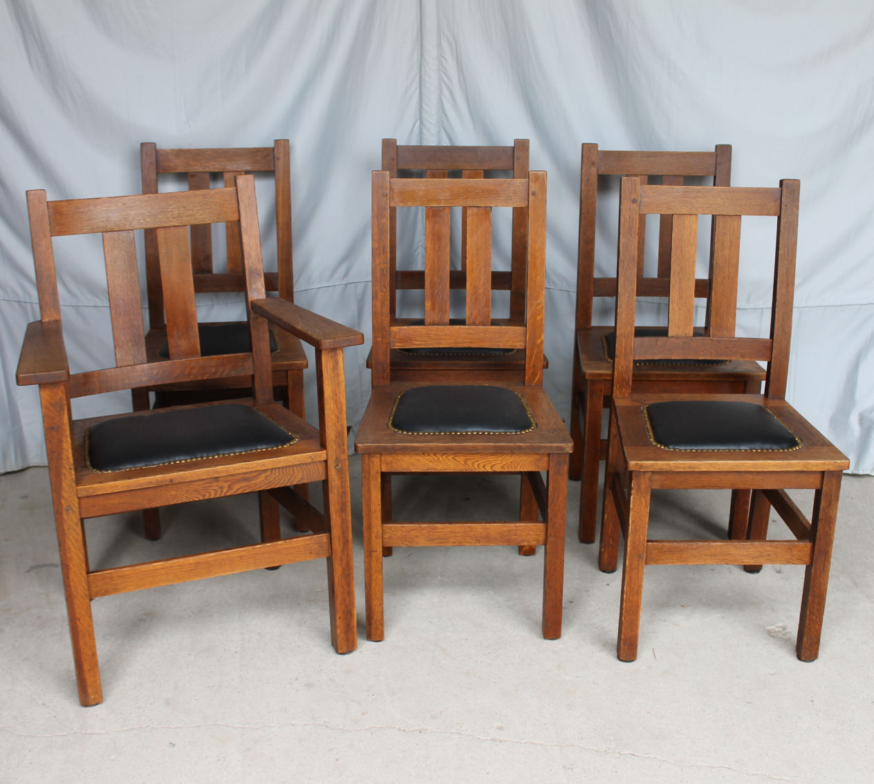 Mission Oak Antique Dining Set