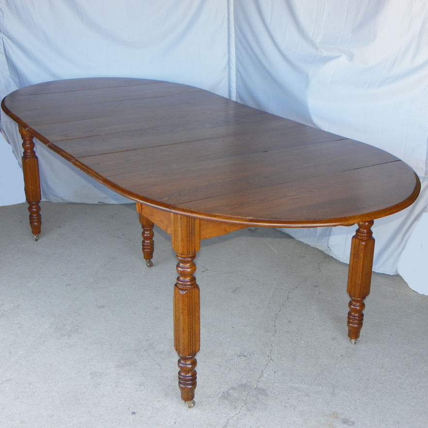 Bargain John S Antiques Antique Drop Leaf Table With