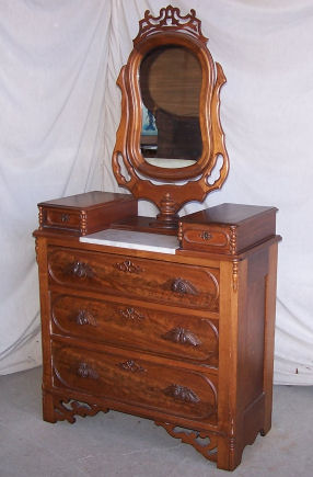 Bargain John S Antiques Antique Victorian Walnut