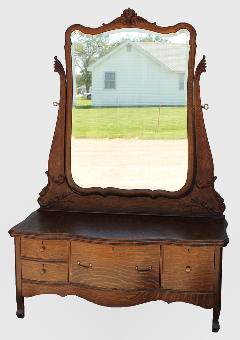 Bargain John S Antiques Antique Oak Princess Dresser