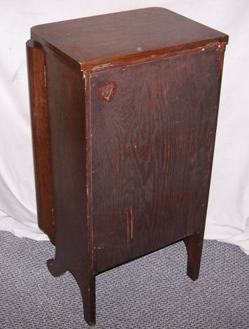 antique liquor cabinet bargain s antiques antique oak liquor cabinet 10658