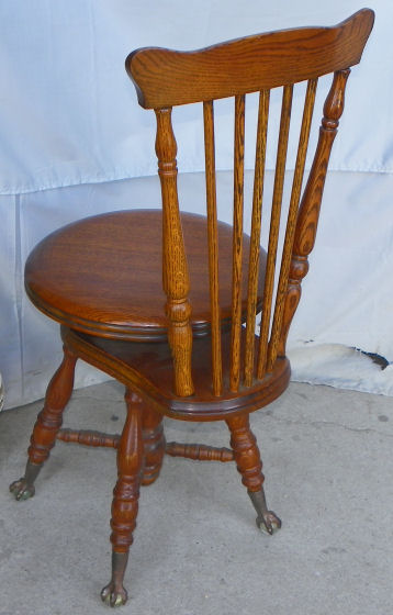 Bargain John S Antiques Antique Oak Piano Stool With