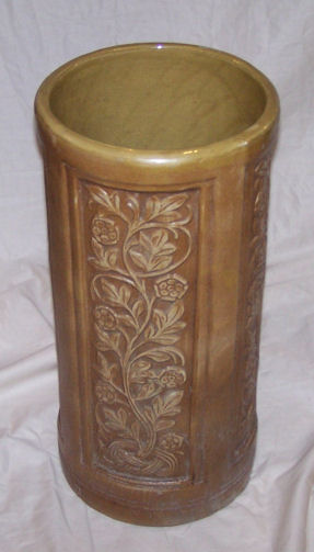 Bargain John S Antiques Red Wing Pottery Brushed Ware