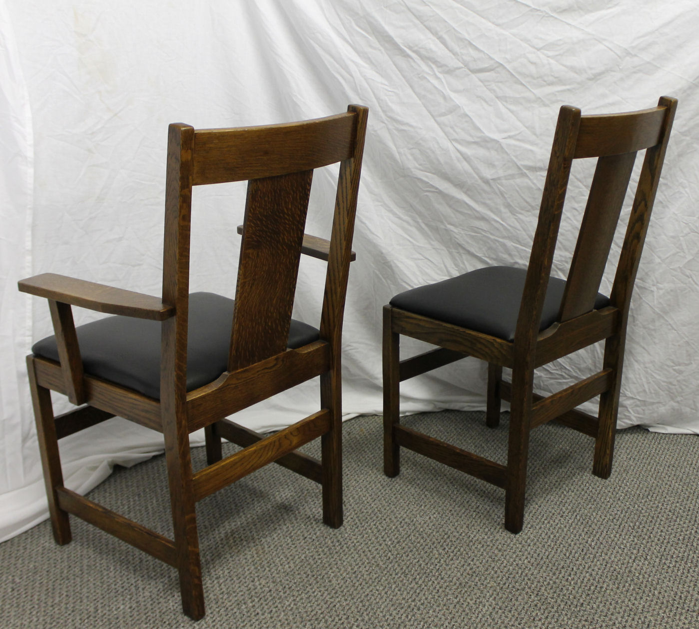 Bargain John S Antiques Antique Mission Oak Dining Set