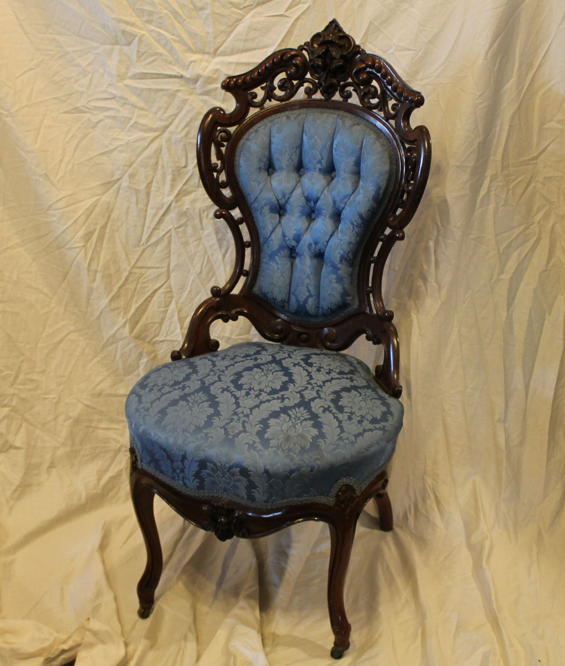 Bargain John S Antiques Victorian Rosewood Side Chair