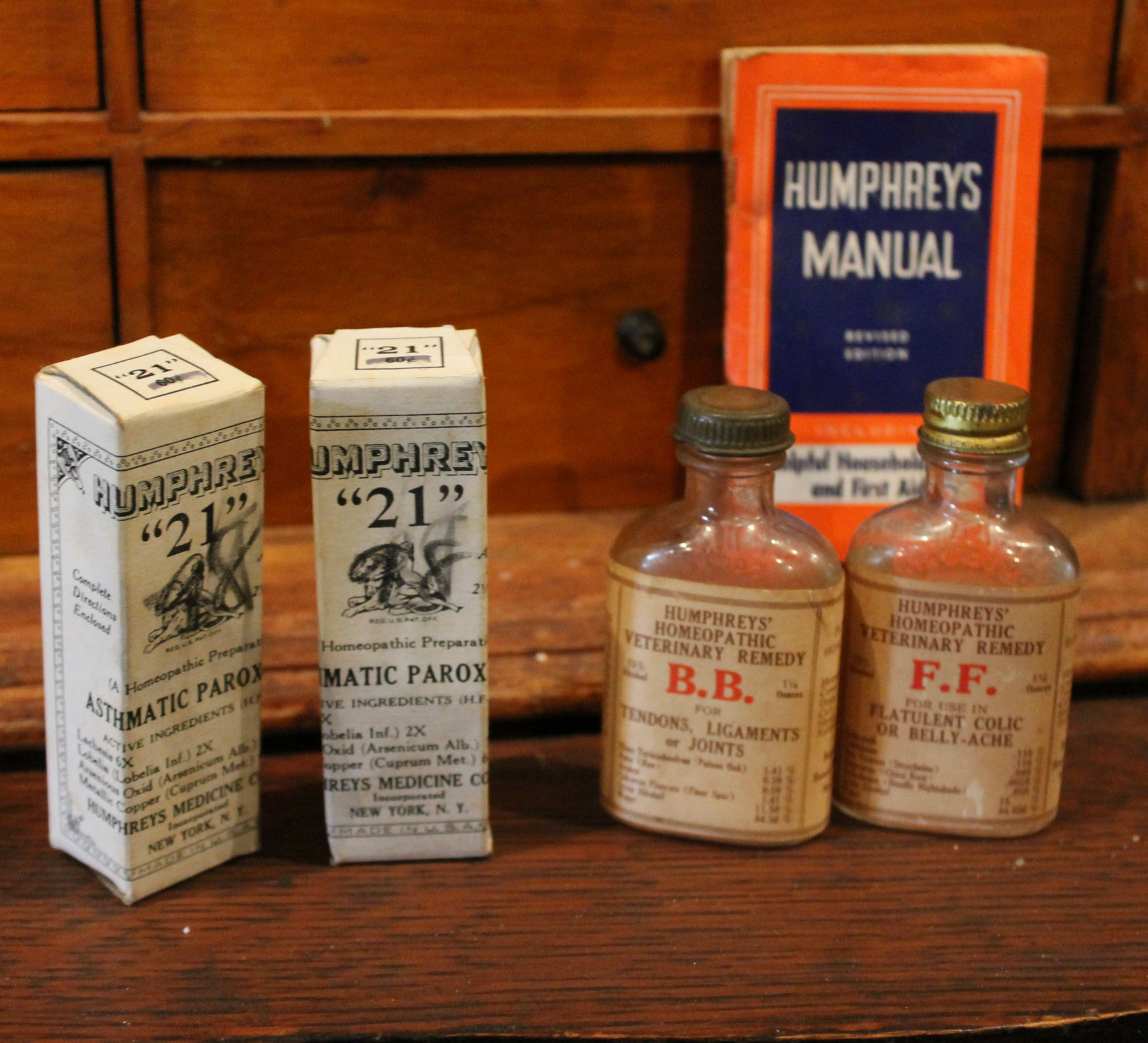 Bargain John S Antiques Humphreys Specifics Apothecary