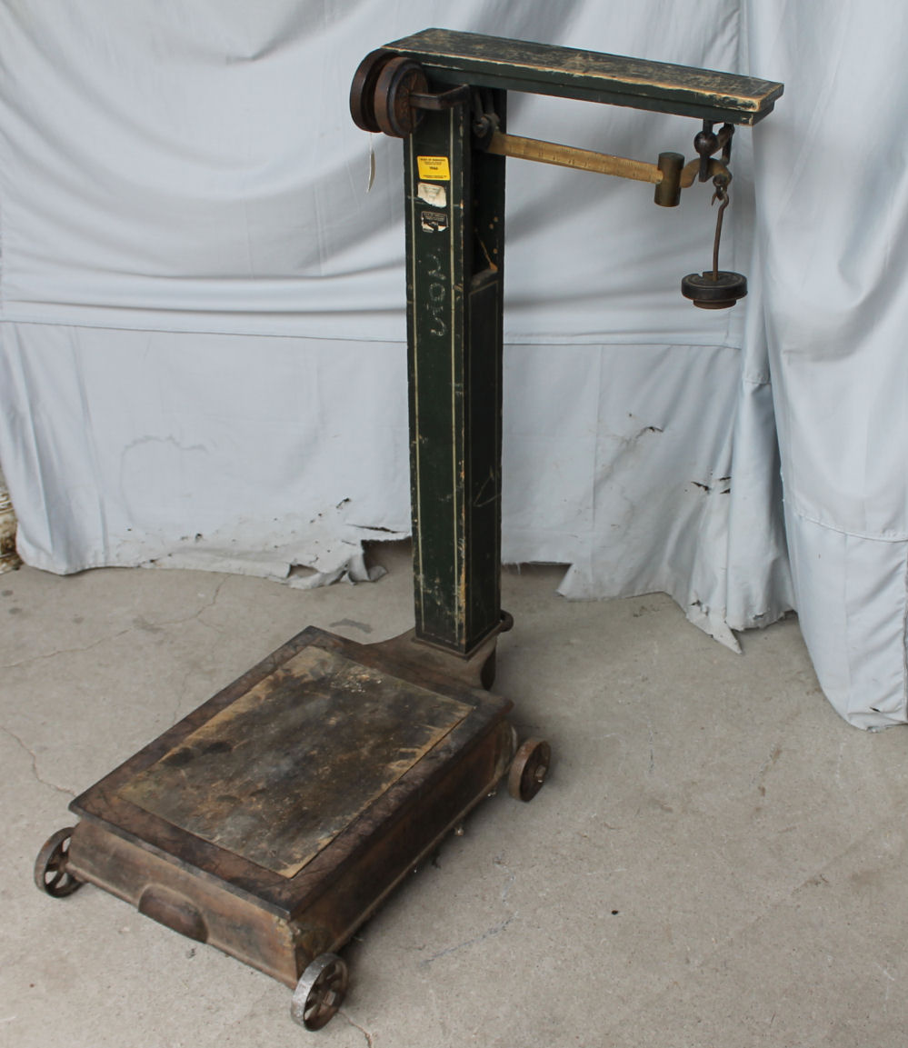 Bargain John S Antiques Antique Platform Grain Or Feed