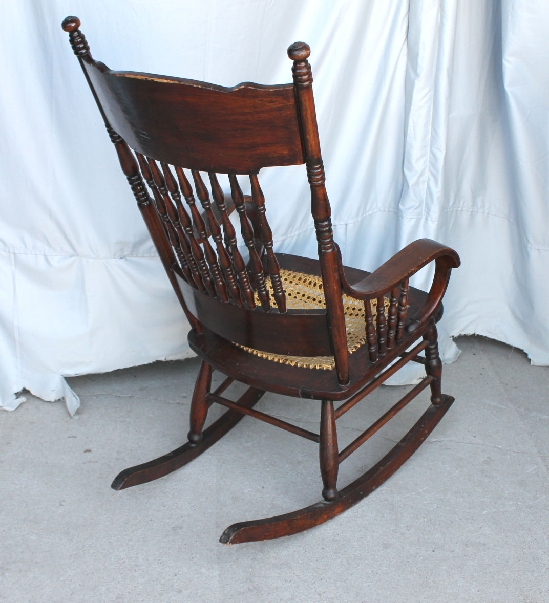 $275 - Bargain John's Antiques » Blog Archive Rocking Chair With Dragons