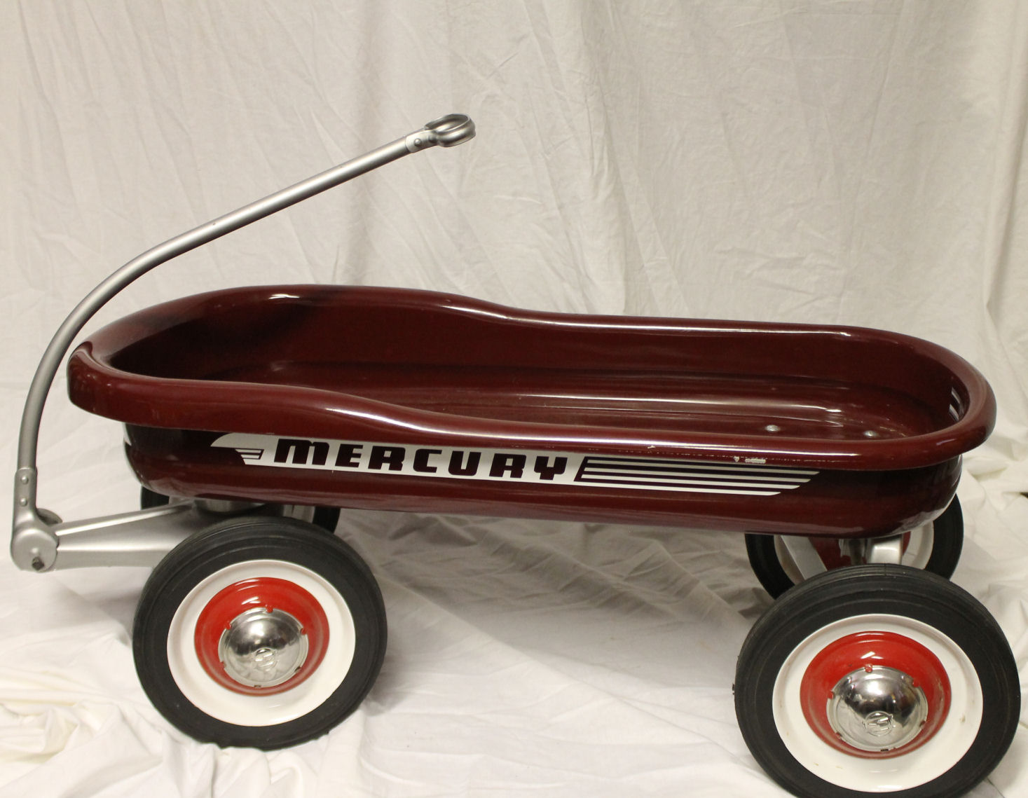 Bargain John S Antiques Antique Mercury Child S Pull Toy Wagon Made By Murray Company Bargain John S Antiques